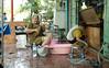 DSC_8309 (SleepingSeasons) Tags: bangkok travel nikon d610 nikond610 travelphotography street streetphotography candid asia 2016 50mm thailand cleaning chinatown oldwomen shopkeepers washing