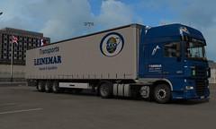 [ETS2 1.26] daf xf 105 510 krone trailer DLc france (trucker on the road) Tags: ets2 126 daf xf 105 510 krone trailer dlc france