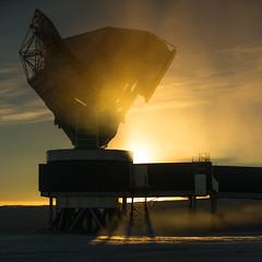 South Pole Telescope (SPT) (redfurwolf) Tags: spt southpole southpoletelescope architecture observatory antarctica sun cloud sky shadow science cmb cosmicmicrowavebackground redfurwolf sonyalpha a99ii sal70200g2 sony