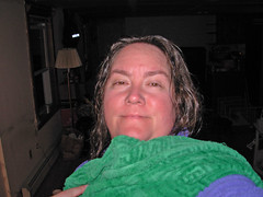towel day on moving day 2006
