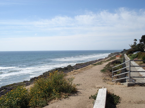 The beach in Del Mar