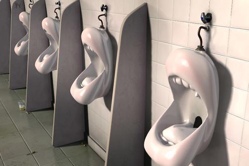 Imagenes Graciosas de Baños (urinales, inodoros, etc)