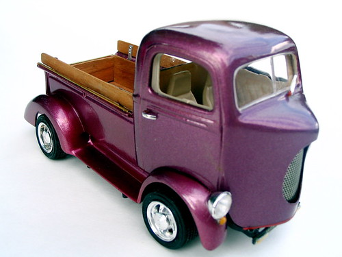 I converted Monograms 1940 Ford Pickup into a COE vehicle