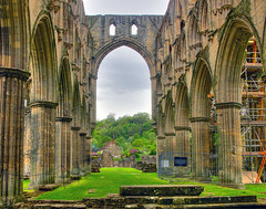 Rievaulx Abbey Presbtery (JuanJ) Tags: uk england abbey tag3 taggedout photoshop lumix interestingness europe tag2 tag1 cs2 unitedkingdom panasonic rievaulx fz hdr interestingness11 fz30 payitforward rievaulxabbey 4aces photomatix mireasrealm i500 judgementday525 explore9jun06 lifetravel