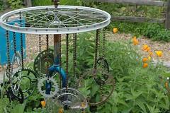 Abernethy Bike Art Garden
