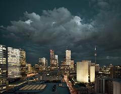 night clouds (wvs) Tags: toronto night clouds downtown topf150 wvs ddoi