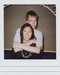 At Charlotte's Sweet Sixteen: Dominik and Me (nao.nozawa) Tags: me polaroid sweet sixteen dominik
