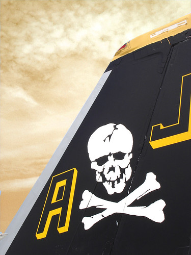 Fighter Airplane picture - F-18 Tail Art