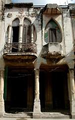 (Vina the Great) Tags: street house havana cuba artnouveau cropped lahabana disintegration