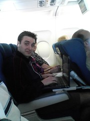 Crowded Airplane Seating
