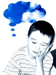 Blue Sky Thinking (Pewari) Tags: blue boy sky clouds dreaming thinking blueskythinking interestingness48 i500 msh0706 msh07062 explore03jul06