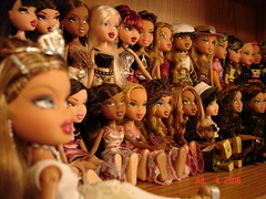 My Bratz!  They are on youtube now!!!
