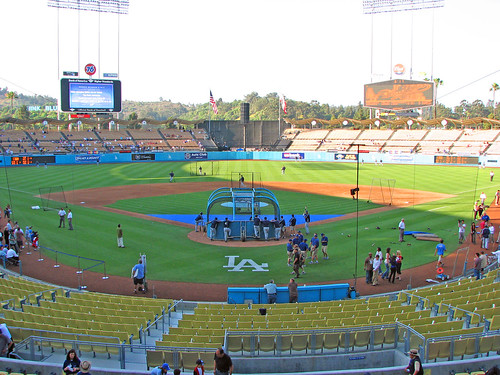 Dodgers Stadium by Matt McGee.
