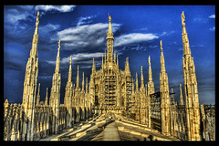 The Duomo, the Heaven Side (Stuck in Customs) Tags: world travel light italy milan art beautiful architecture geotagged photography photo italian nikon colorful europe pretty dynamic cathedral gorgeous gothic d2x dream fresh divine spire professional adventure international photograph stunning duomo top100 charming foreign fabulous spiritual technique hdr tutorial trey intricate artisitic engaging travelphotography theduomo ratcliff rayonnant d2xs hdrtutorial stuckincustoms imagekind geo:lat=4546429356031786 geo:lon=9191321736348963 treyratcliff focuspocus stuckincustomsgooglescreensaver curtissimmons