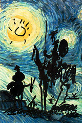Don Quixote in a Starry Night por mize2oo5