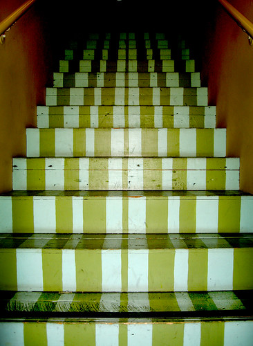 Stairs and Stripes by Cat Faery Shari