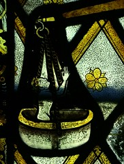 Brightwell Baldwin, Oxon, nIV, 1a(3) (Vitrearum (Allan Barton)) Tags: souls stainedglass medieval scales oxfordshire weighing lastjudgment brightwellbaldwin