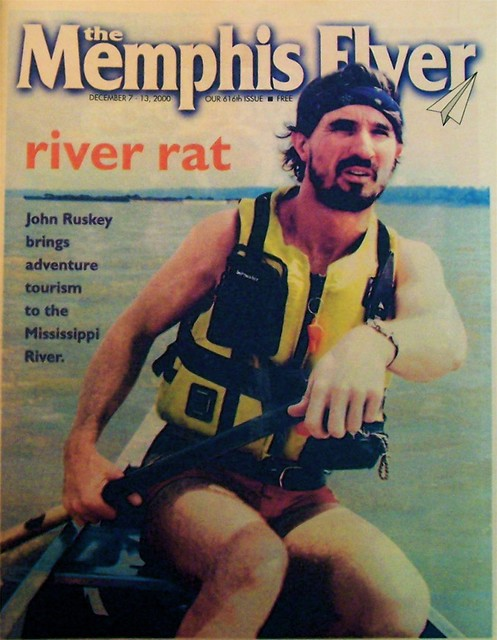 my Memphis Flyer cover shot of John Ruskey by Gary Bridgman