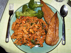 Mackerel and Seafood Pasta (jovike) Tags: food fish dinne