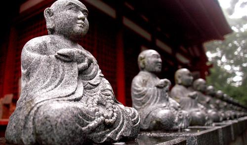 Yakuoin Buddhas