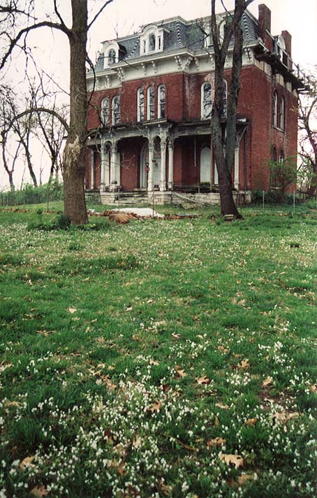 The historic McPike Mansion