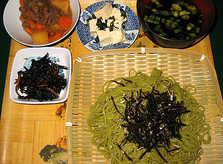 cha soba dinner by aiyah.