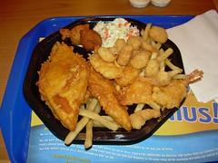 Super Sampler (Morton Fox) Tags: 15fav food fish ny chicken suffolk supersampler fastfood shrimp longisland fries seafood ljs melville longjohnsilvers