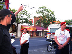 Guardian Angels in Vancouver get a military salute - by darkthirty