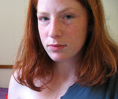 count.my.freckles (miss pupik) Tags: family portrait look skin sister womanonly redhead shoulder freckle bestviewlarge
