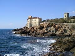 Castel Boccale (Conanil) Tags: italien sea italy mer castle mar rocks meer italia mare zee tuscany toscana toscane castello livorno italie itali toskana scogli romito toscani boccale toscnia