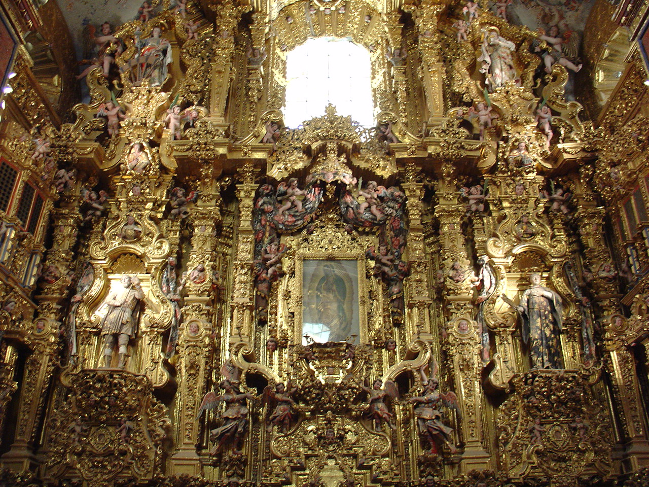 el arte barroco en mexico: