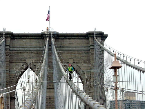 New York - Brooklyn Bridge - October 25th 2004