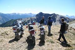Mountaintop Group (CatsFive) Tags: panorama mountain andy sport interesting ride mark ds 2006 columbia garrett bmw motorcycle british dual kawasaki r1200gs catsfive klr dontmiss
