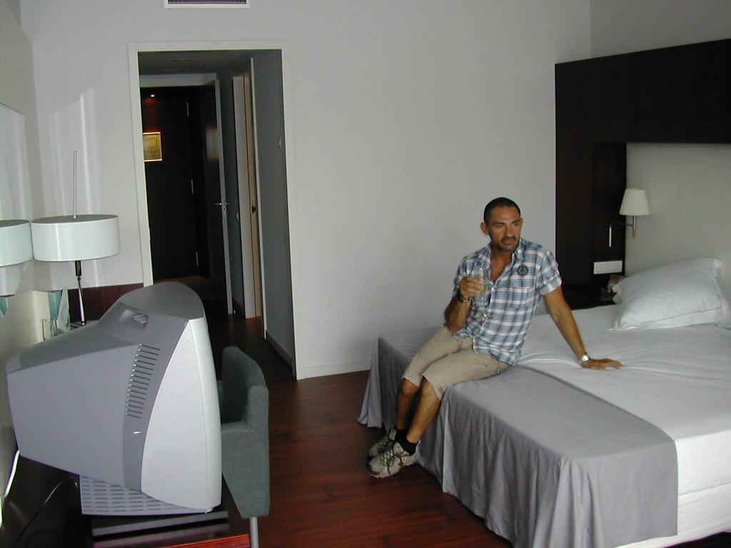 L'habitació a l'Hotel Ra