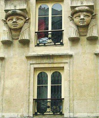 Galerie Egyptienne (epape) Tags: paris stone architecture statues 2006 egyptianstyle