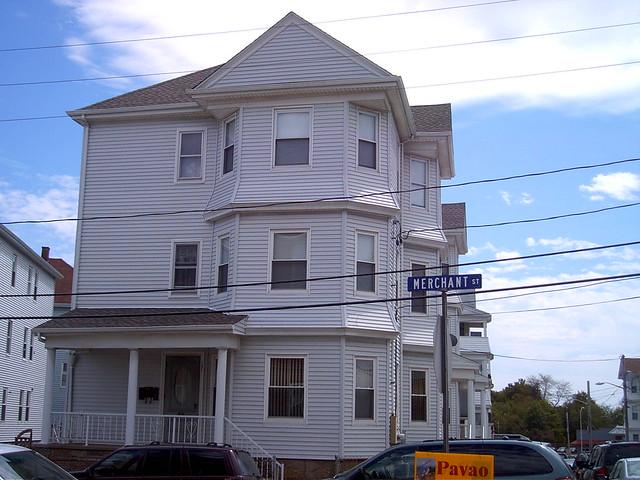 Marie Rose Ferrons 3rd house she lived at 131 Merchant St 3rd floor Fall River Massachusetts USA 050 by Marie Rose Ferron