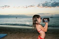 Filming on Maui