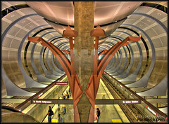 travel in style (Kris Kros) Tags: california ca travel usa public station architecture modern train underground subway photography gold la losangeles interestingness high cool interesting nikon pix boulevard dynamic metro metallic transport basement style tunnel socal trainstation hollywood transportation future kris passenger hollywoodblvd range modernarchitecture hdr futuristic blvd kkg 467 3xp photomatix kros kriskros travelinstyle kk2k abigfave hollywoodtunnel kkgallery