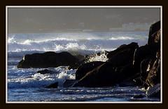 San Diego Surf (**Mary**) Tags: ocean california sea usa beach water wow ilovenature rocks surf waves sandiego fengshui americasfinestcity