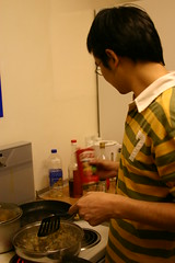 Yang Xu was the Chief Cooking Officer in our gang (Justin Qian) Tags: life scotland abstracts memorable