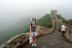 Linda at Mutianyu #2 (timbeckenham) Tags: china wall great chinese 2006    wnlchngchng