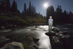 Moon light (nathalie booth) Tags: california moon reflection america nightshot ethereal moonlight featherriver briquet plumascounty pahud nathaliepahud nathaliebriquet