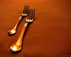 Forks - S3isForks (Daniel Y. Go) Tags: utensils dinner canon philippines things powershot sparkle forks tagaytay antonios s3is kakadoochoice onecentshot wowiekazowie gettyimagesphilippinesq1