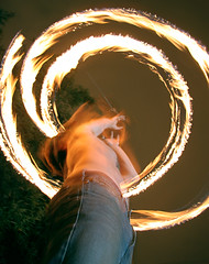 TMWDPE (sgoralnick) Tags: party fire backyard bbq william firespinning poi themostwelldocumentedpartyever