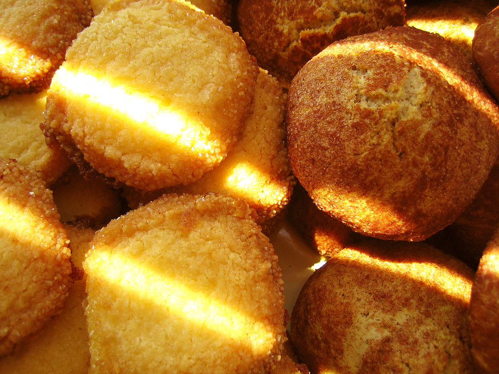 snickerdoodles & butter cookies
