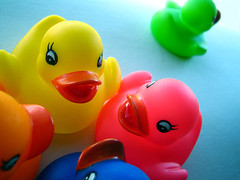 gossip central (bitzi  ion-bogdan dumitrescu) Tags: pink blue red playing green yellow kids children fun duck kid child play ducks rubber gossip bitzi interestingness58 interestingness91 interestingness353 i500 progi ibdp findgetty ibdpro wwwibdpro ionbogdandumitrescuphotography