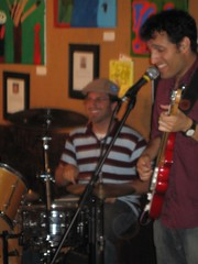 Rob and Ari (rlbackbeat) Tags: brb bobbyrosenwoodband jufj