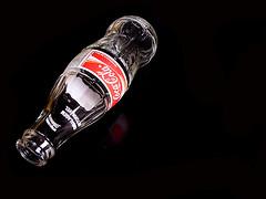Always. (alves filho) Tags: red black glass one bottle empty coke always cocacola interestingness64 abigfave