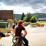Aberdare skatepark overview