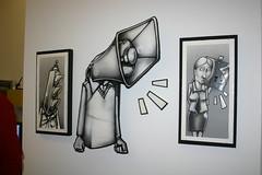Anthony Lewellen's show in Brooklyn (fotoflow / Oscar Arriola) Tags: new york city nyc chicago art brooklyn artist gallery galleries artists anthony williamsburg ejecutivo servicio lewellen anthonylewellen servicioejecutivo